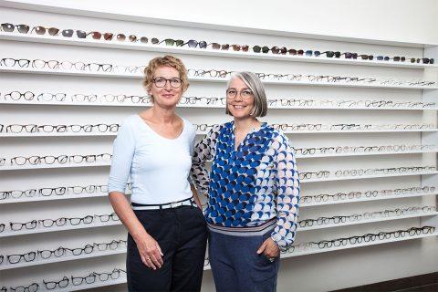 Die Inhaberinnen von Sehgang Brillen Ottensen